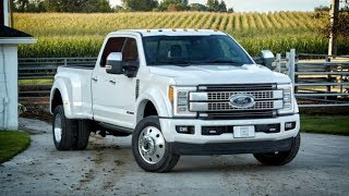 Ford F-450 Super Duty 2018 Car Review
