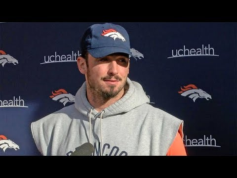 Paxton Lynch ready to be the man for the Denver Broncos