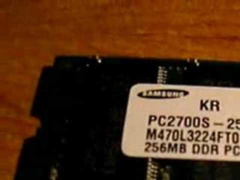 Samsung 256MB PC2700 RAM