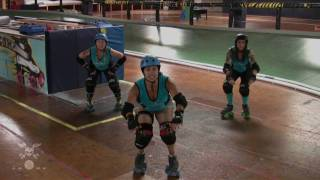 Roller Derby Destructive  Blocking w/San Diego Derby Dolls