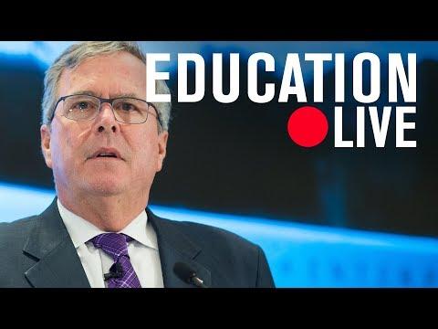 Jeb Bush on the future of educational choice and education savings accounts | LIVE STREAM