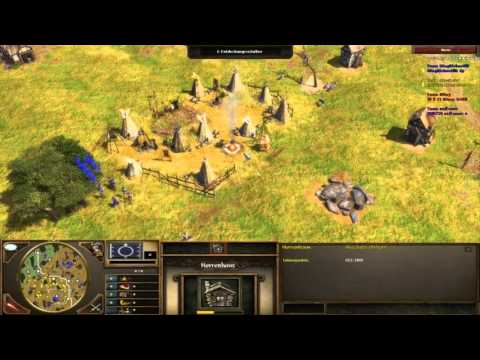 Age of Empires 3 Multiplayer 1v1 observer rematch commentary