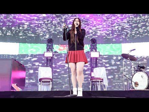 Lana Del Rey - Cherry - DEBUT - KROQ Weenie Roast - LIVE