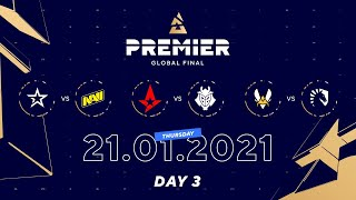 COL vs NaVi, Astralis vs G2, Vitality vs Team Liquid | BLAST Premier Global Final Day 3