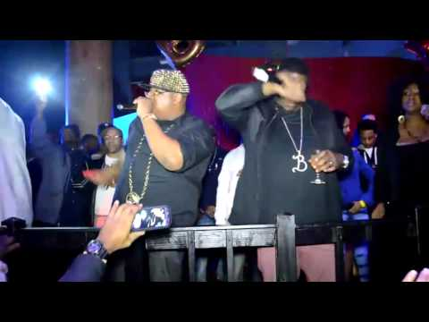 E 40 & DA CLICK PERFORM LIVE @HAZE NIGHTCLUB SOUTHFIELD MI B-LEGIT BIRTHDAY BASH