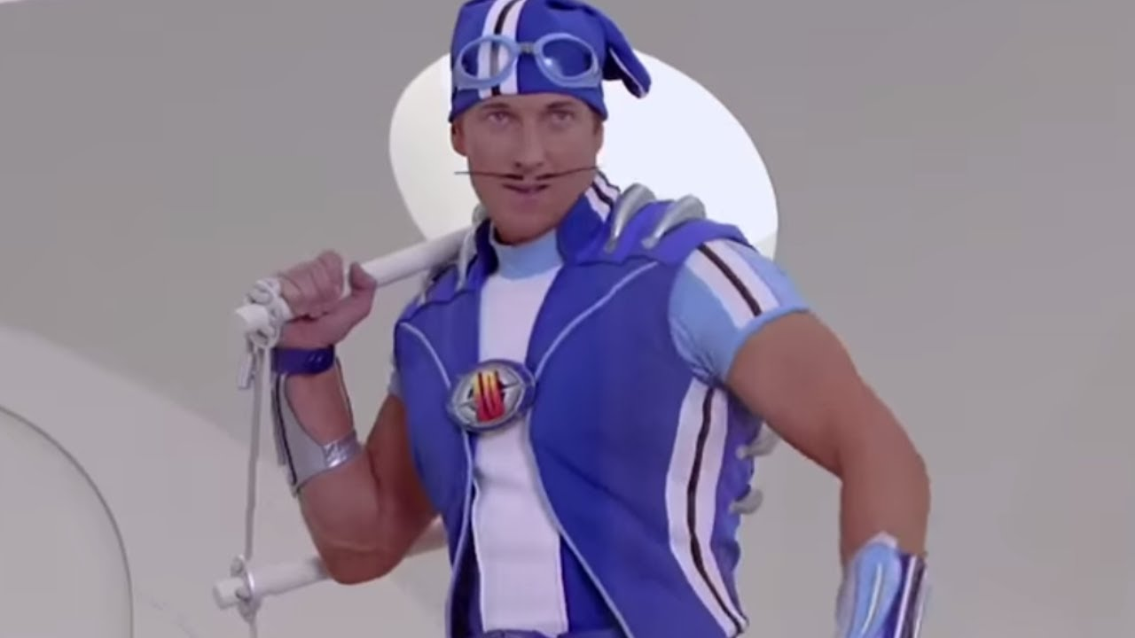LAZY TOWN MEME THROWBACK   Let's Go Music Video   Lazy ...
