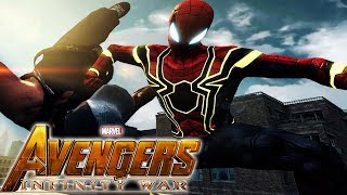 Avengers: INFINITY WAR Spider-man - TASM 2 (MOD)