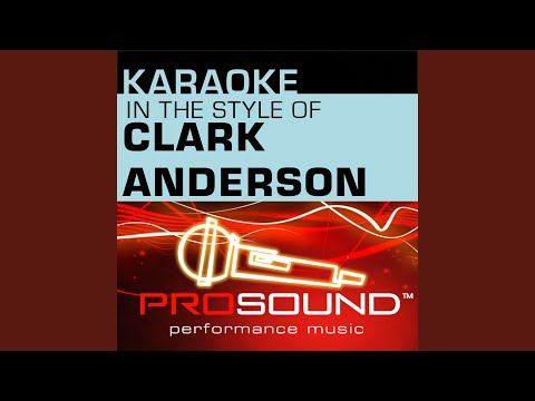So Amazing (Karaoke Instrumental Track) (In the style of Clark Anderson)