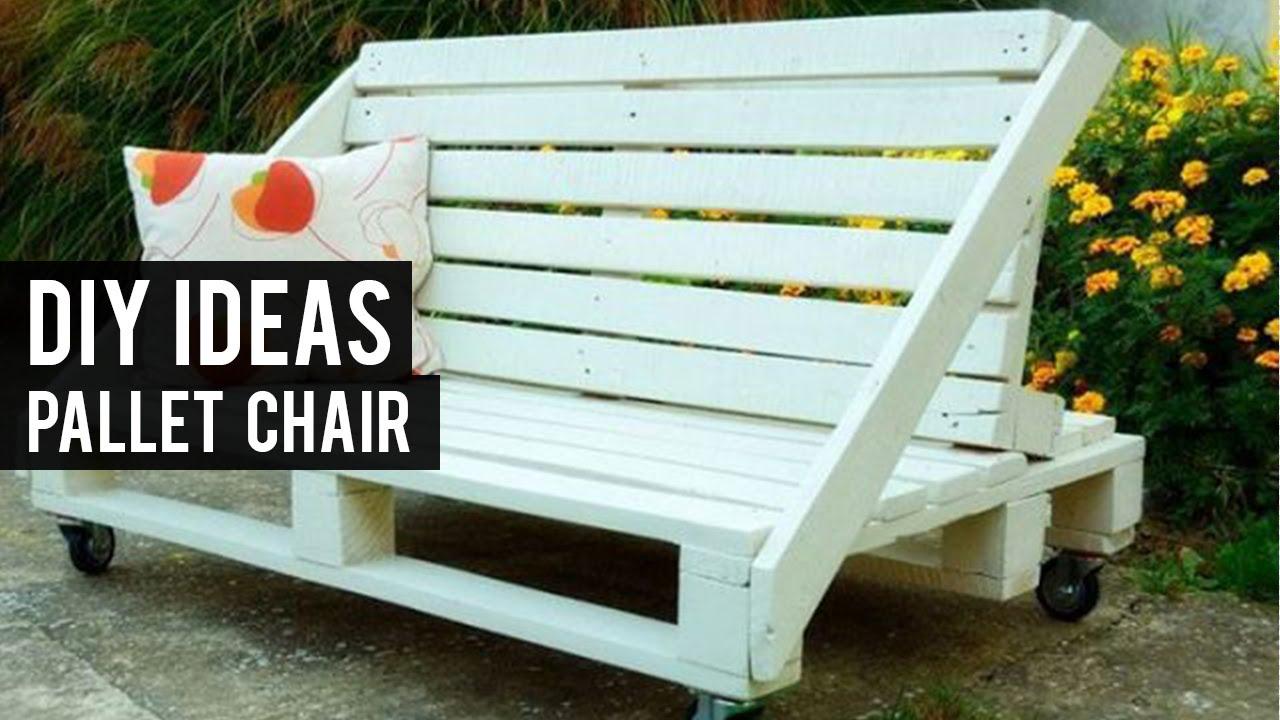 Pallet armchair - Pallet Armchair