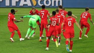 SENSATION ! ENGLAND GEWINNT ZUM ERSTEN MAL BEI EINER WM IM ELFMETERSCHIEßEN WM 2018...
