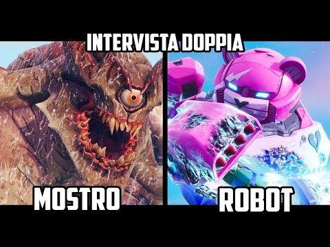 MOSTRO vs ROBOT : PERCHÉ SI SONO SCONTRATI? – INTERVISTA DOPPIA Su Fortnite