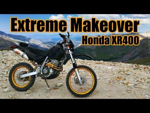 Honda XR250 Exhaust & Airbox mod   Doovi
