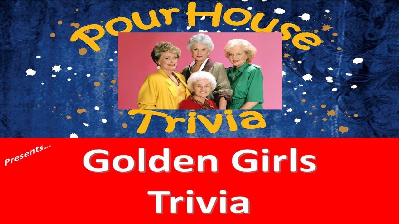 9 Minute Golden Girls Trivia Quiz