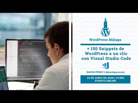 +150 snippets de WordPress a un clic con Visual Code