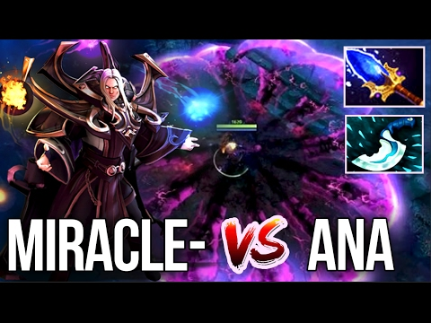 Liquid.Miracle- vs. OG.Ana FIGHT - Who is the World's BEST Mid Player?