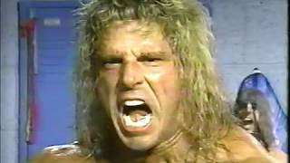 Post Match Interview From Ultimate Warrior VS Million Dollar M…