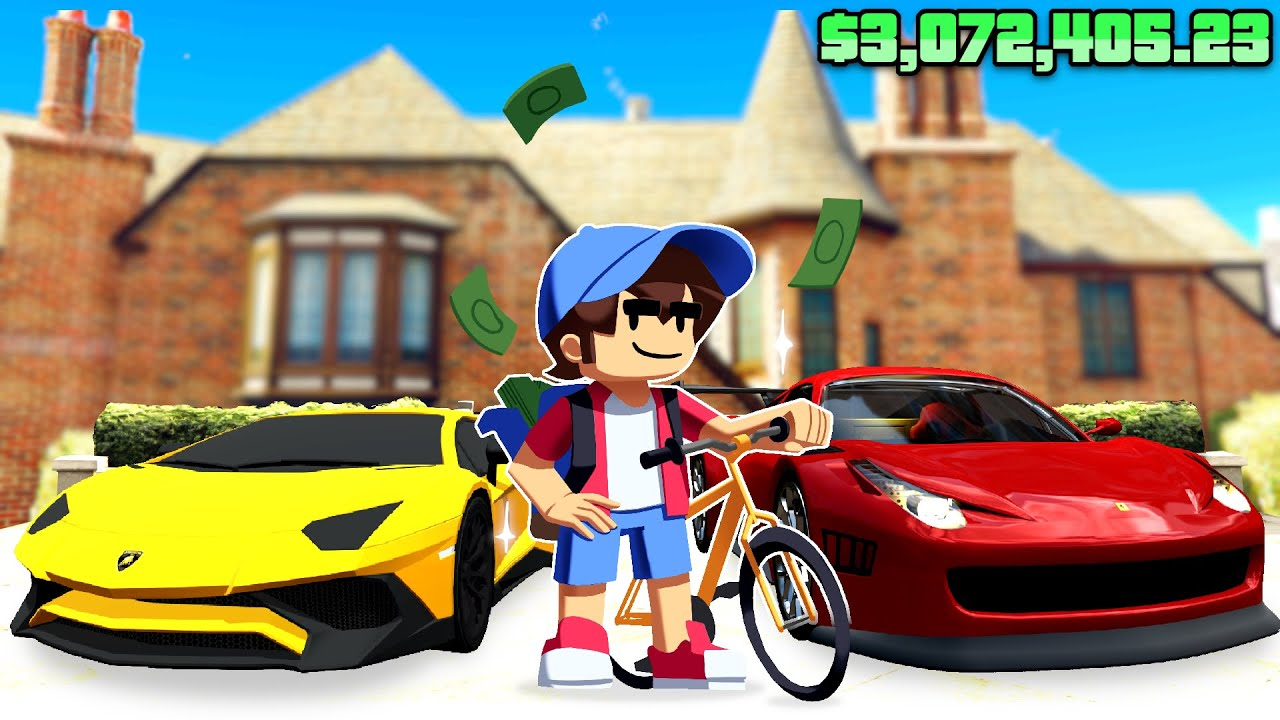 Becoming The RICHEST KID In GTA 5 ... (Impossible)