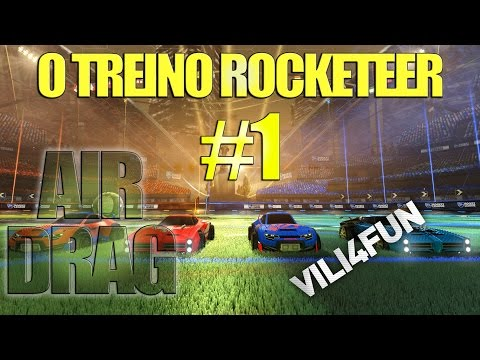 Rocket League - #1 Treinos para se tornar uma lenda [Air drag]