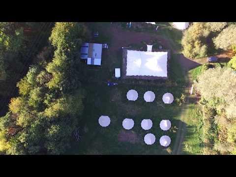 Browning Bros - Teybrook Orchard Aerial View