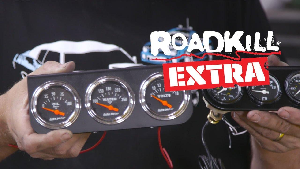 Tech Advice: Electric vs Mechanical Gauges - Roadkill Extra - YouTube