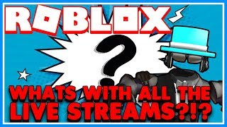 🔴 Whats with all the Live Streams?!? | Roblox Live Stream | Jail Break, MM2 & MORE | JOIN US!!