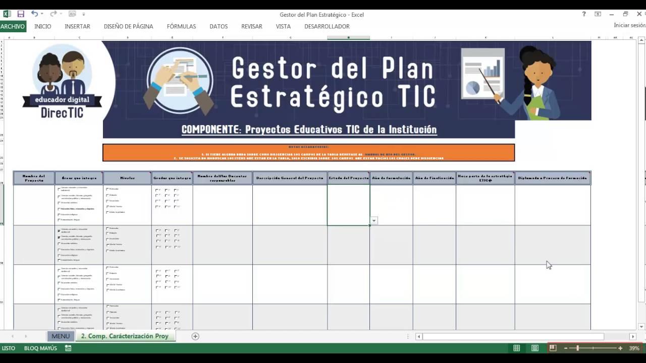 Video Tutorial Gestor del Plan Estratégico TIC Parte 1 - YouTube