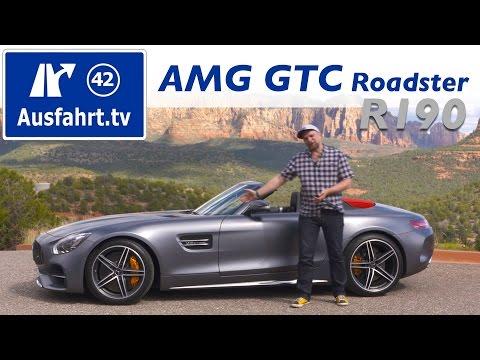 2017 Mercedes-AMG GTC Roadster / Cabrio  (R190) - Testbericht der Probefahrt, Test, Review,