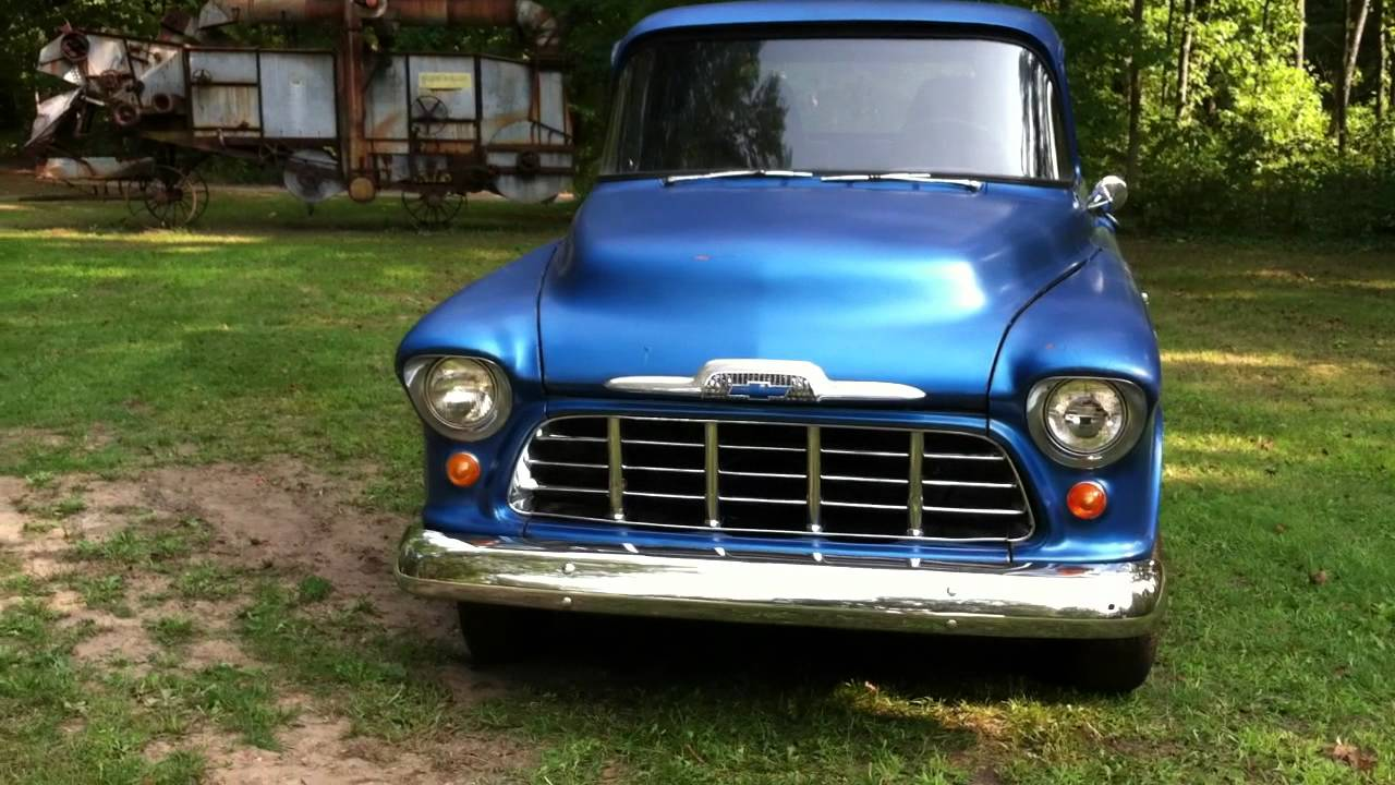 1956 Chevy Truck Walk Around For Sale - YouTube