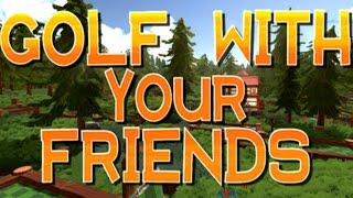 Играем в гольф с Алексом и Куплиновым (Golf with your friends).