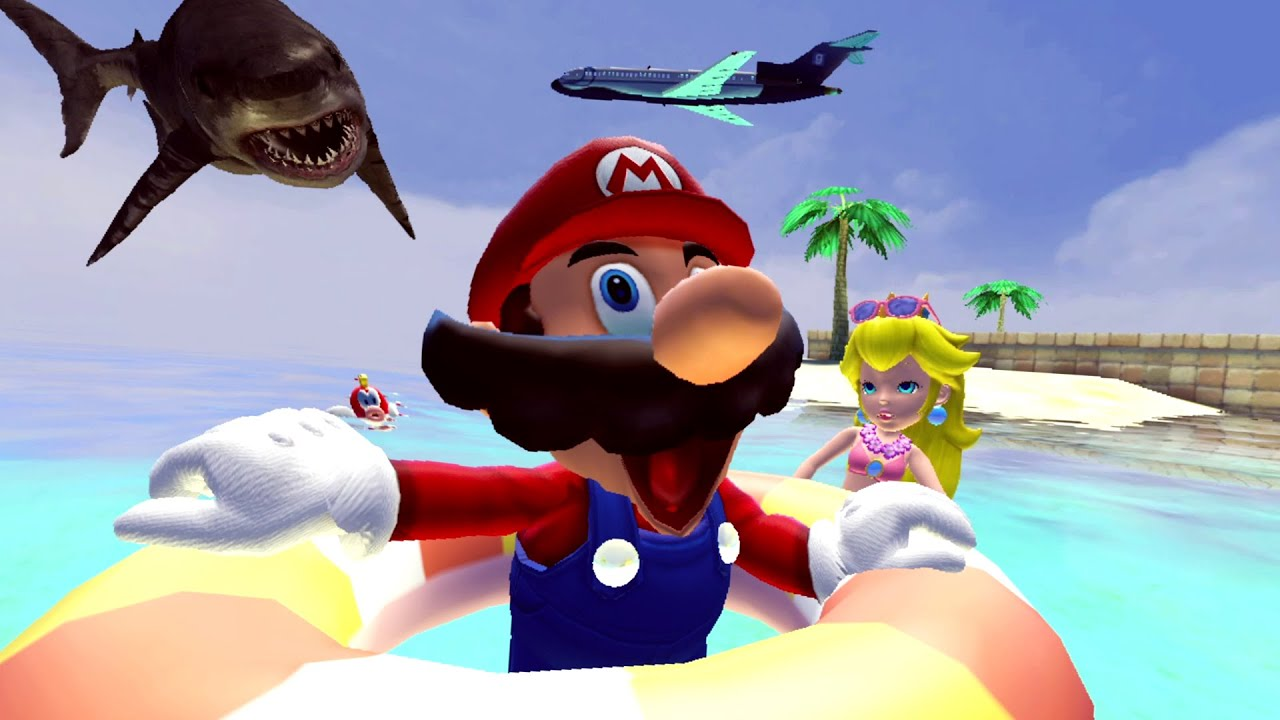 SMG4 [Fan Made]: Mario's Beach Day