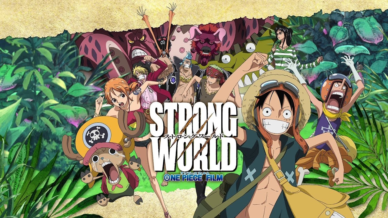 One Piece: Strong World Review - YouTube