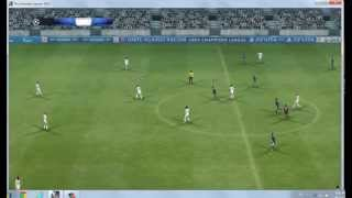 PES 2013 - FC Barcelona vs Real Madrid - PC Gameplay HD