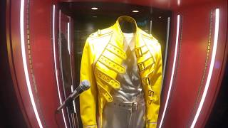 """Freddie Mercury Original Stage Dress From """"live At Wembley Stadium - Queen The Magic Tour 1986"""""""