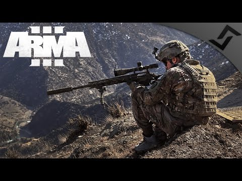 Bolt Action Sniper Team Overwatch - ARMA 3 - 3rd Ranger Battalion Main Op - 1st Person Gameplay
