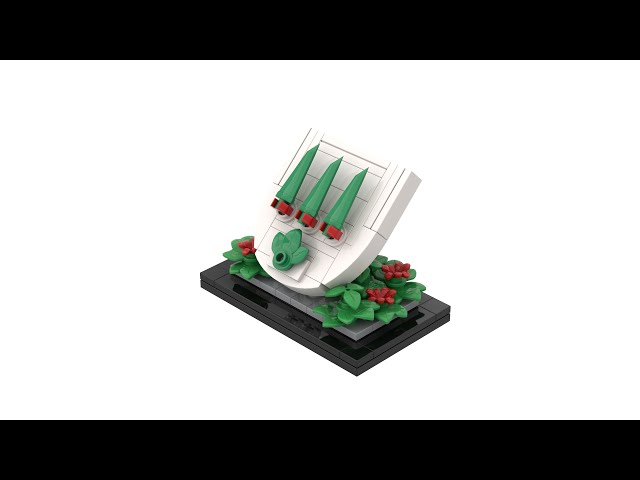 LEGO® Coat of Arms of Olten with Instructions