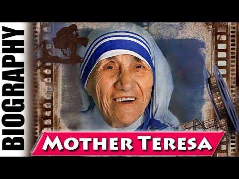 Mother teresa biography in english