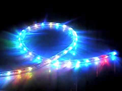 Led multi color rope light youtube led multi color rope light mozeypictures Choice Image