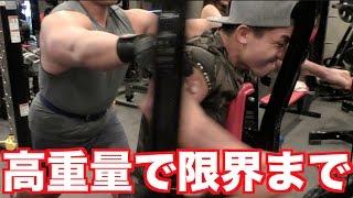 【漢の筋トレ】超絶マッチョ達の筋肉はこうやって作られている・・・高重量の筋トレ