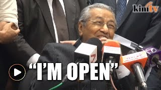I can even stand as a DAP candidate, jokes Mahathir