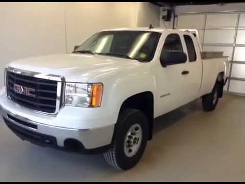 used 2010 gmc sierra 2500hd 4wd ext cab wt 18 295. Black Bedroom Furniture Sets. Home Design Ideas