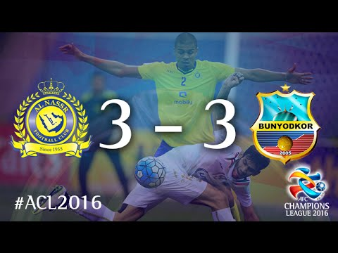 AL NASSR vs BUNYODKOR: AFC Champions League 2016 (Group Stage)