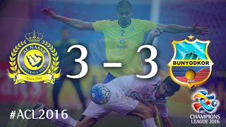 AL NASSR vs BUNYODKOR: AFC Champions League 2016 (Group Stage) 2017 Video