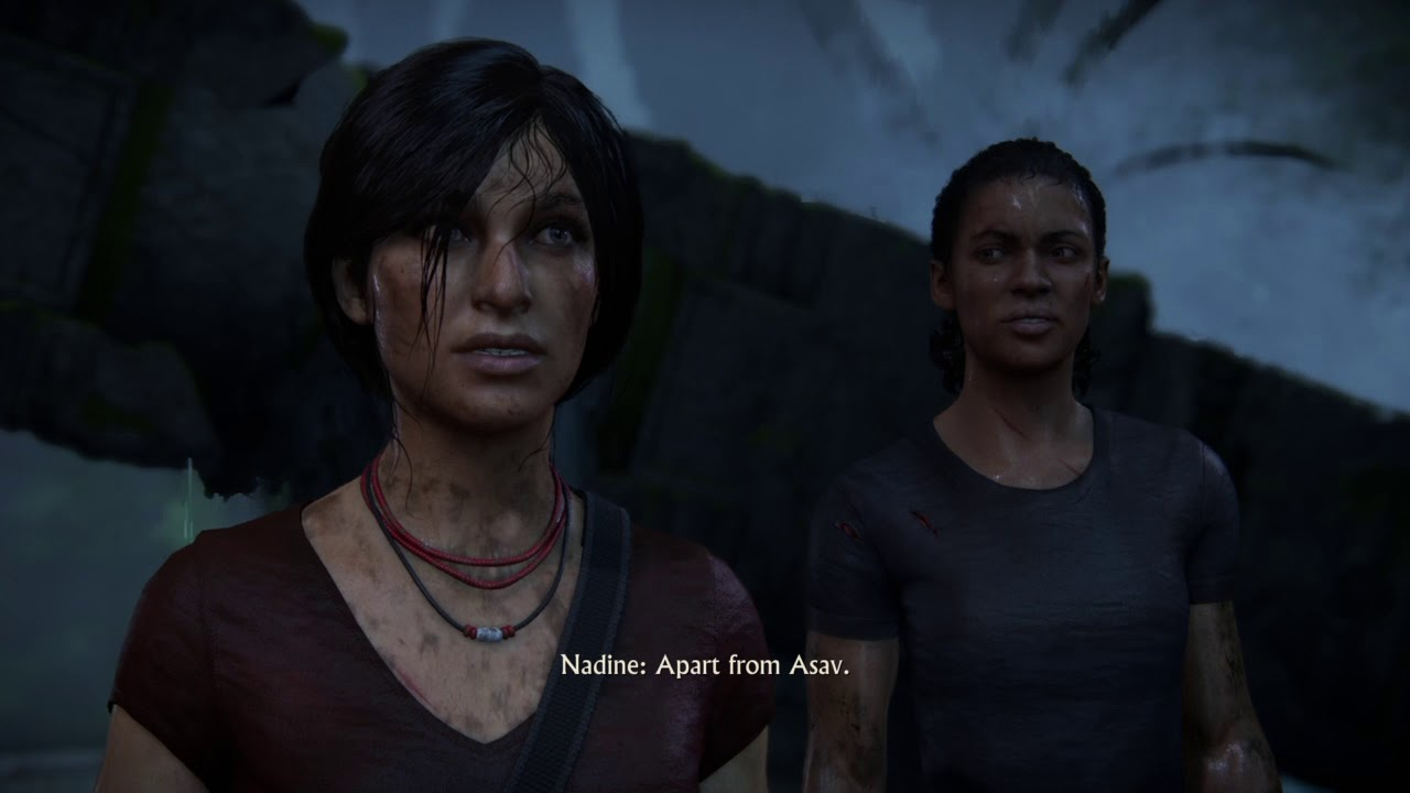 Chloe And Nadine Uncharted The Lost Legacy Funny Moment Youtube