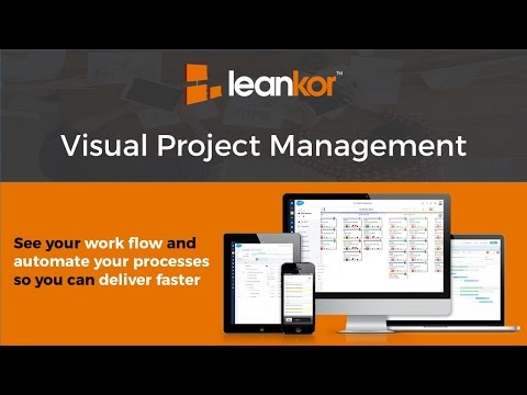 Leankor Product Overview - Visual Project Management