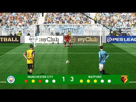 PES 2019 | Manchester City vs Watford | Penalty Shootout | Gameplay PC
