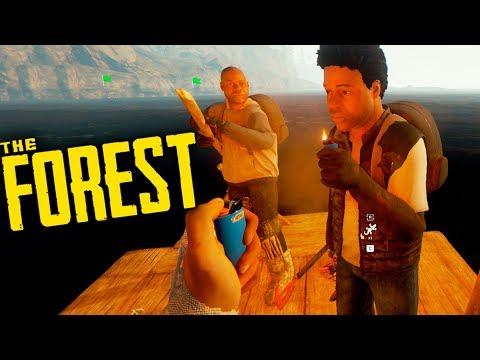 THE FOREST - ATACARAM NOSSA BASE e fomos para o MAR - Ep.10 (Co-op Survival Horror) - 동영상