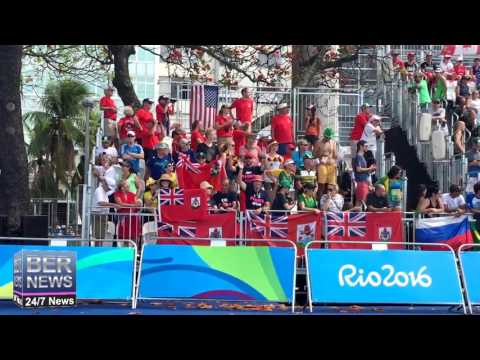 Flora's Family & Bermuda Pride At Rio Olympics, August 20 2016
