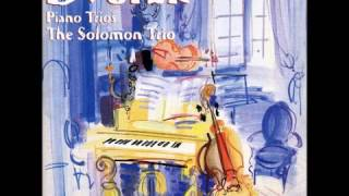 Dvorak Piano Trios Op.26 and Op.65-Solomon Trio-Rodney Friend (Violin)