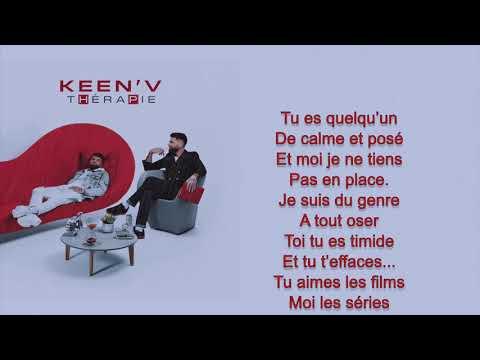Keen'V - C'est toi que j'ai choisie ( video Lyrics )