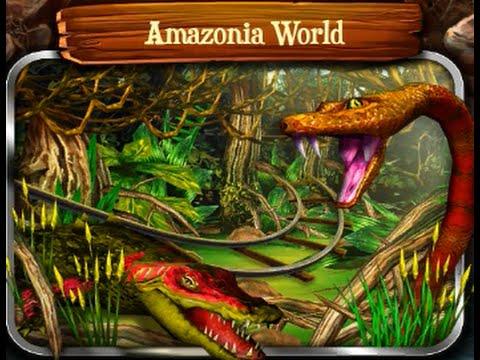 Rail Rush - #6 Amazonia World (Track Guide)